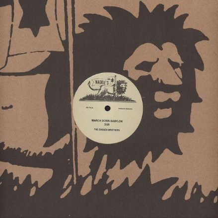 Chosen Brothers - March Down Babylon / Dub / Version (Wackie's) 12""